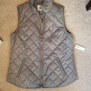 Gray lightweight vest